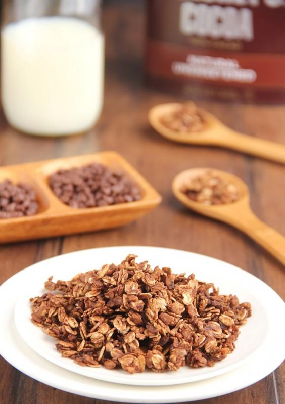 Homemade Granola Recipes: Mocha Granola