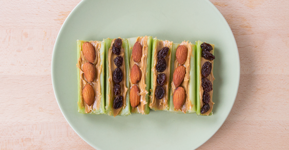 31 Healthy and Portable High-Protein Snacks: Nut Butter Boat