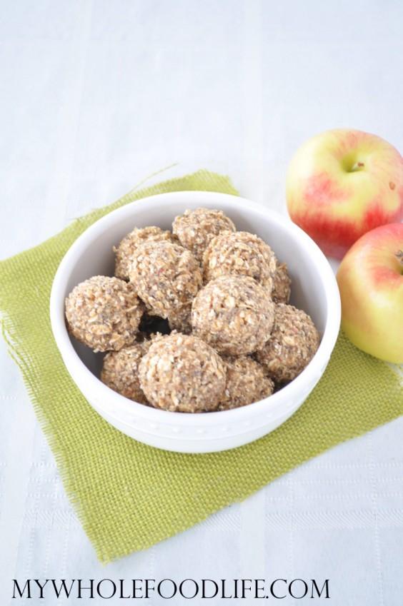 Apple Almond Energy Bites