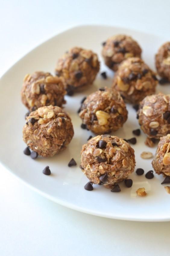 4. No-Bake Cookie Dough Energy Bites