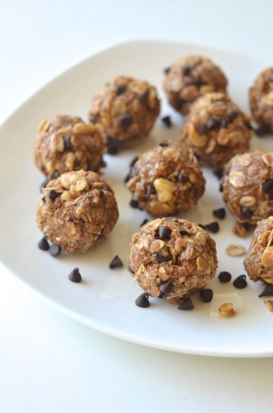 Quickies - Quick Vegan Breakfast Ideas Made In Minutes-4. No-Bake Cookie Dough Energy Bites