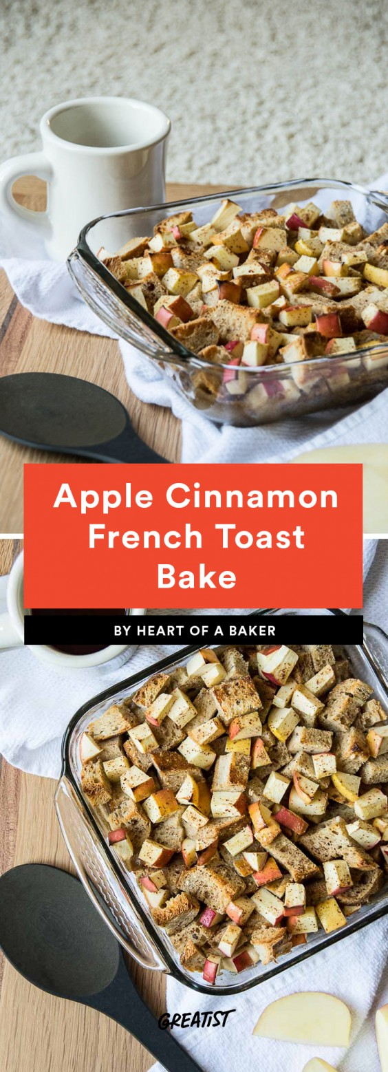 Apple Cinnamon French Toast
