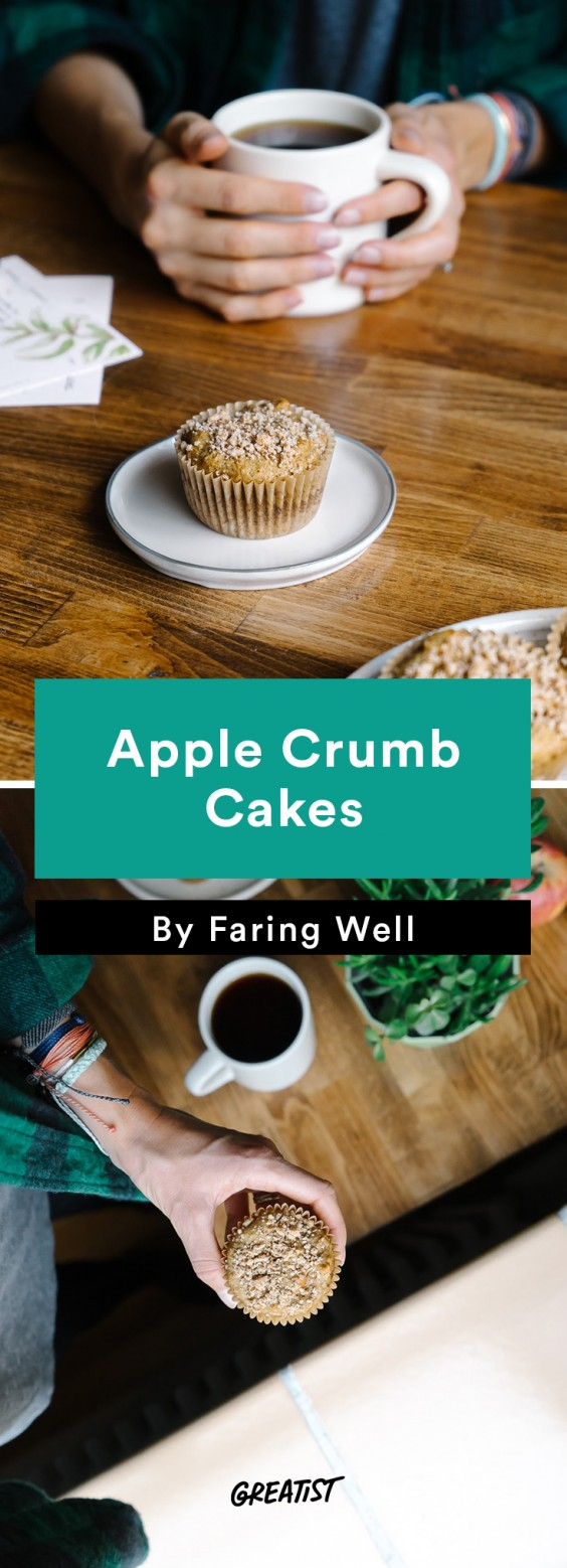 faring well: Apple Crumb Cakes