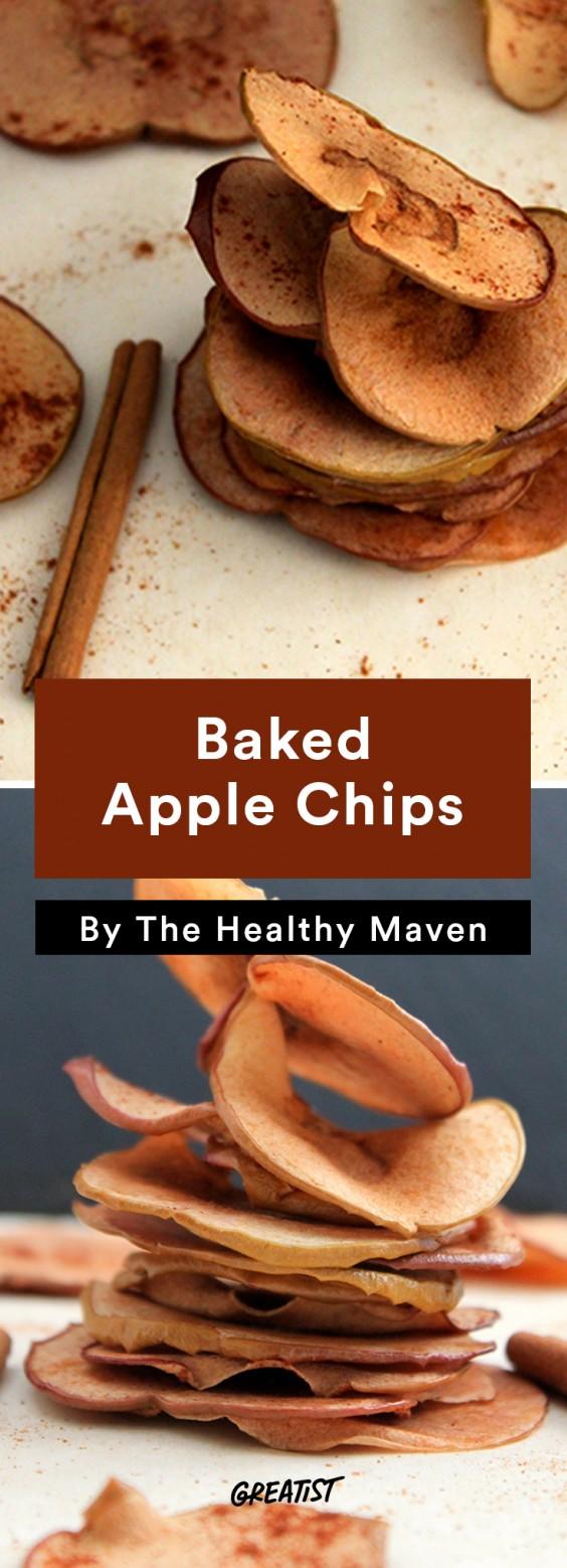 Travel Snacks: Apple Chips