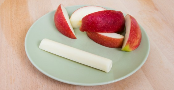 Pre- and Post-Workout Snacks Apples and cheese