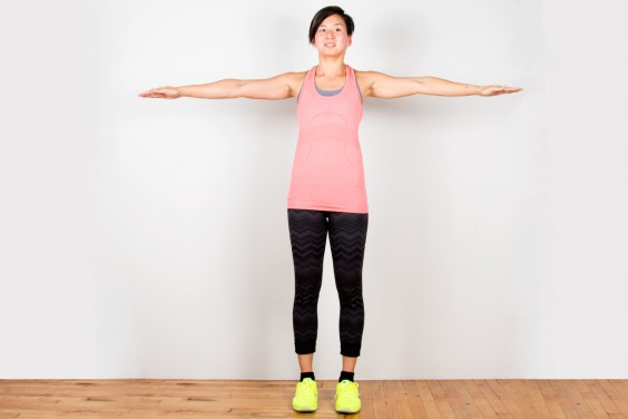 Bodyweight Exercise: Arm Circles
