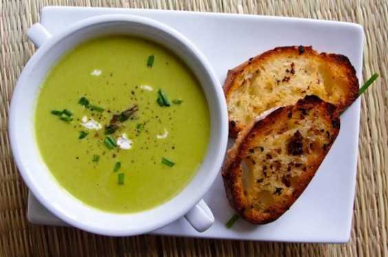 Spring Asparagus Pancetta Hash via Smitten Kitchen