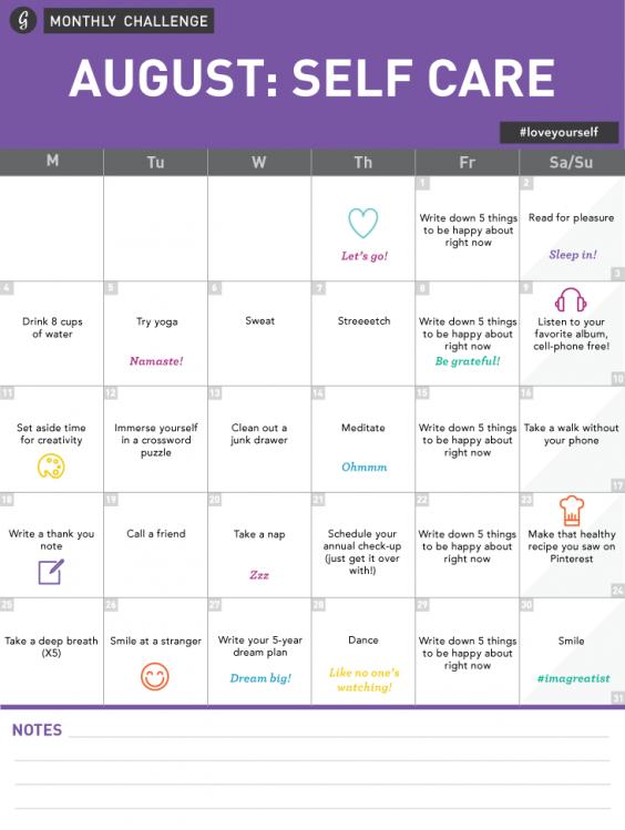 self care plan worksheet | Cleverwraps