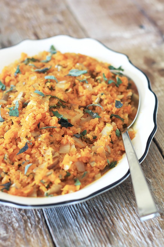 Paleo Dinners: Butternut Squash Risotto