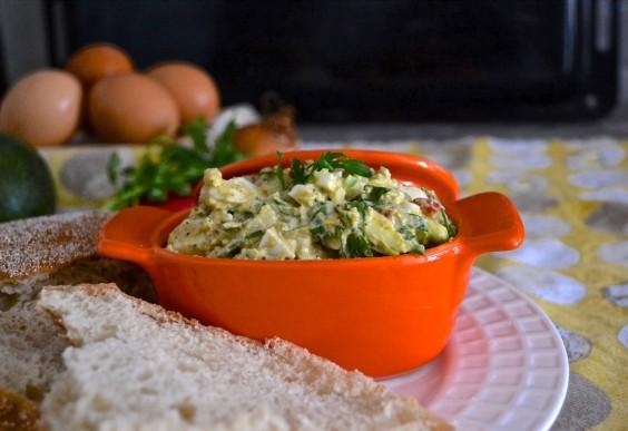 CalMex Avocado and Egg Salad