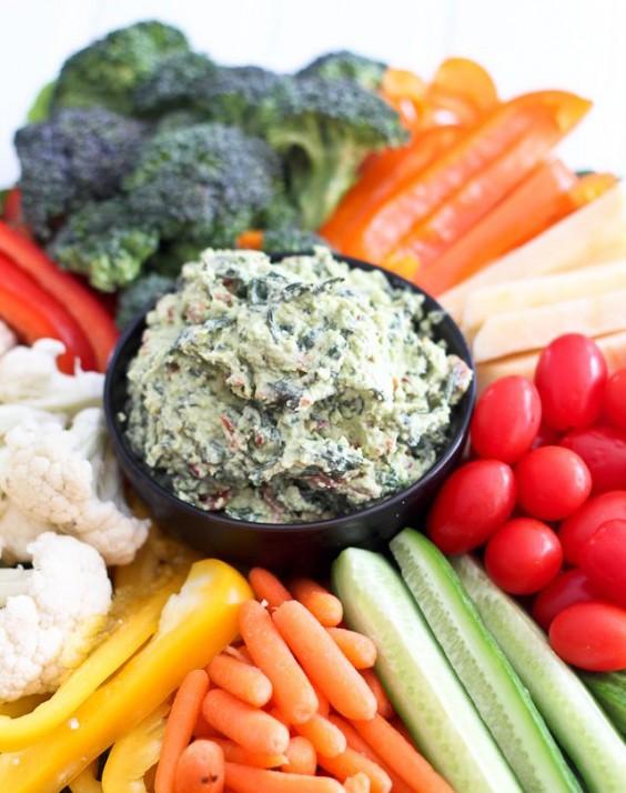 Paleo Avocado Spinach Dip Recipe