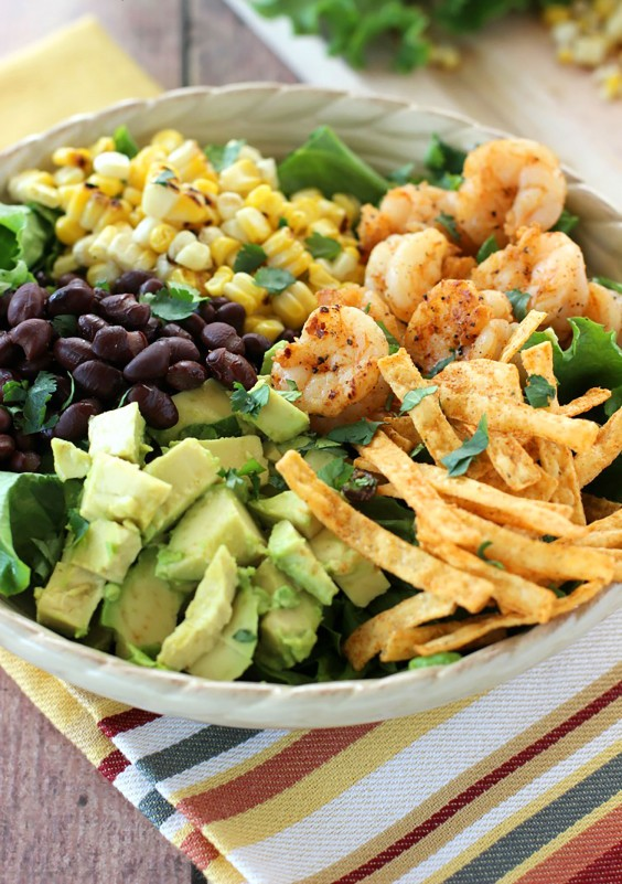 Southwest Shrimp Salad