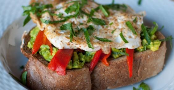 How do you improve avocado toast? Put an egg on it!