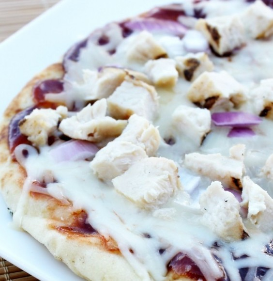 28. BBQ Chicken Pizza