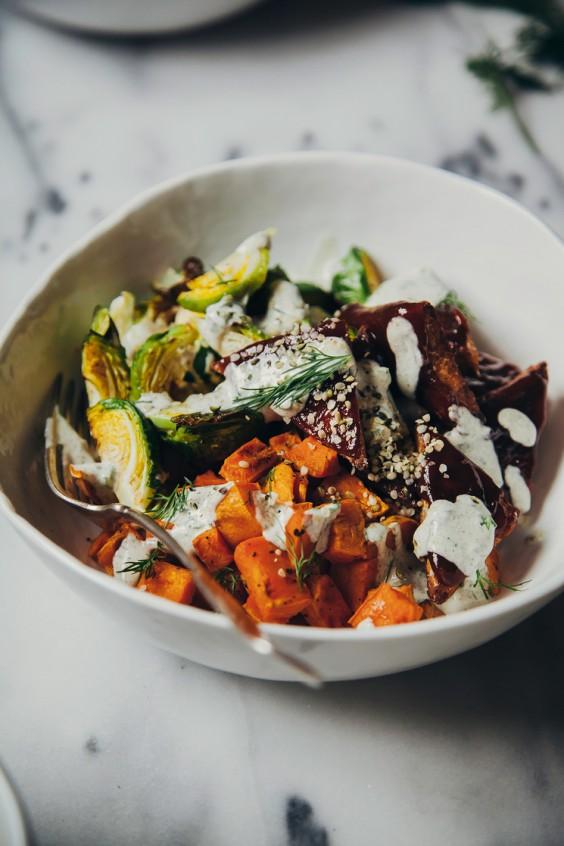 Buddha bowls: BBQ Tempeh
