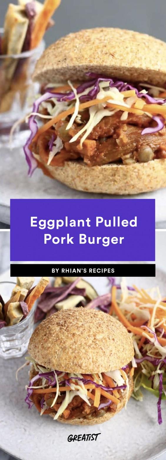 Eggplant Pulled Pork
