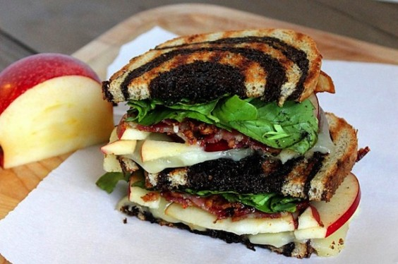 Bacon Apple Sandwich