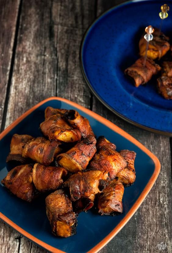Paleo Snacks: Bacon Wrapped Butternut Squash