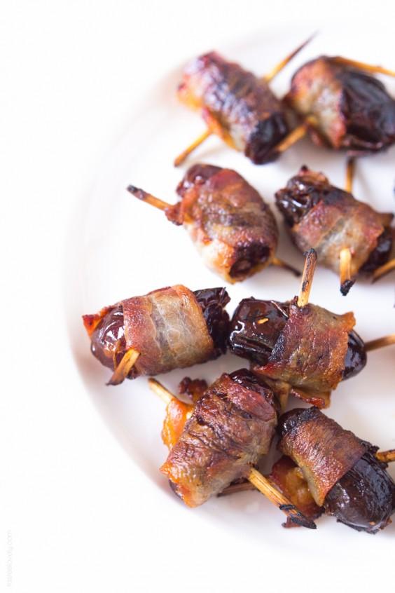 Paleo Bacon Wrapped Dates Recipe