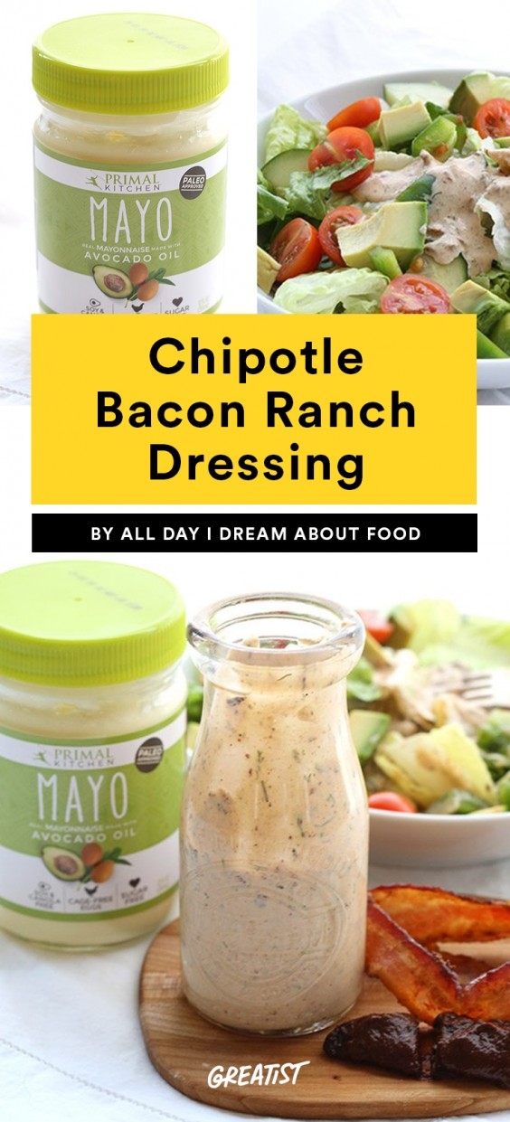 Chipotle Bacon Ranch Dressing