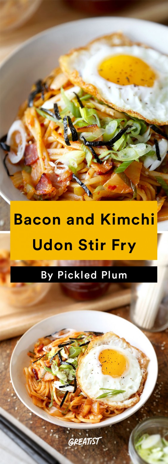Pickled Plum: Udon Stir Fry