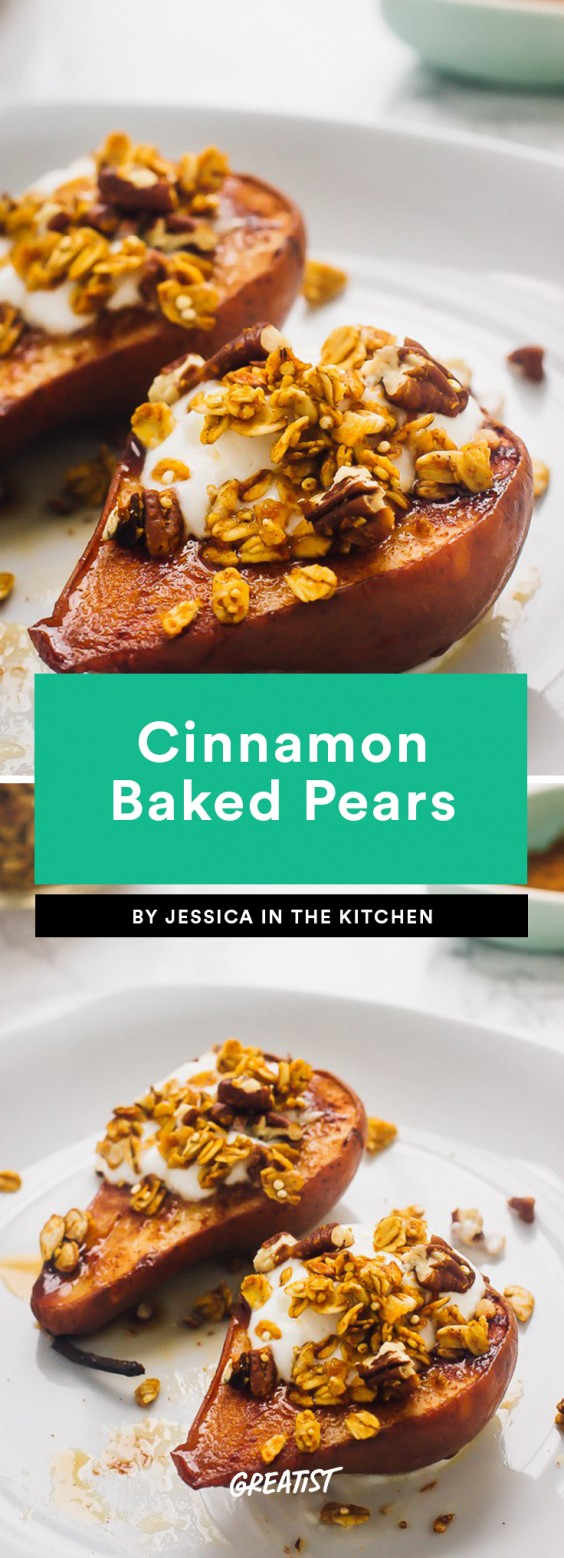Cinnamon Baked Pears Recipe