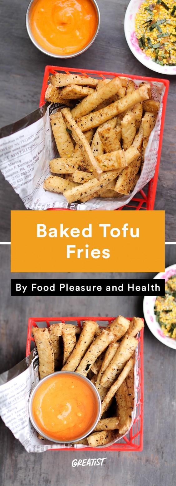 Tofu Recipes: Baked Tofu Fries