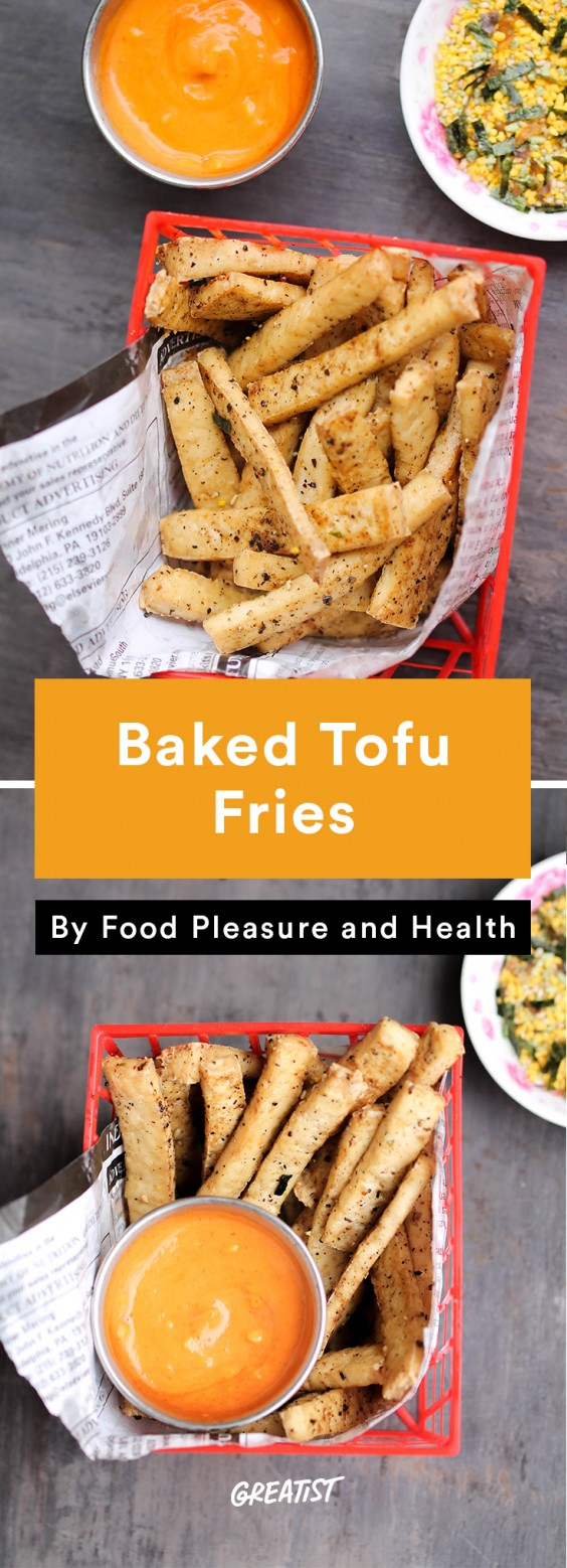 Tofu Recipes: Baked Tofu Fries