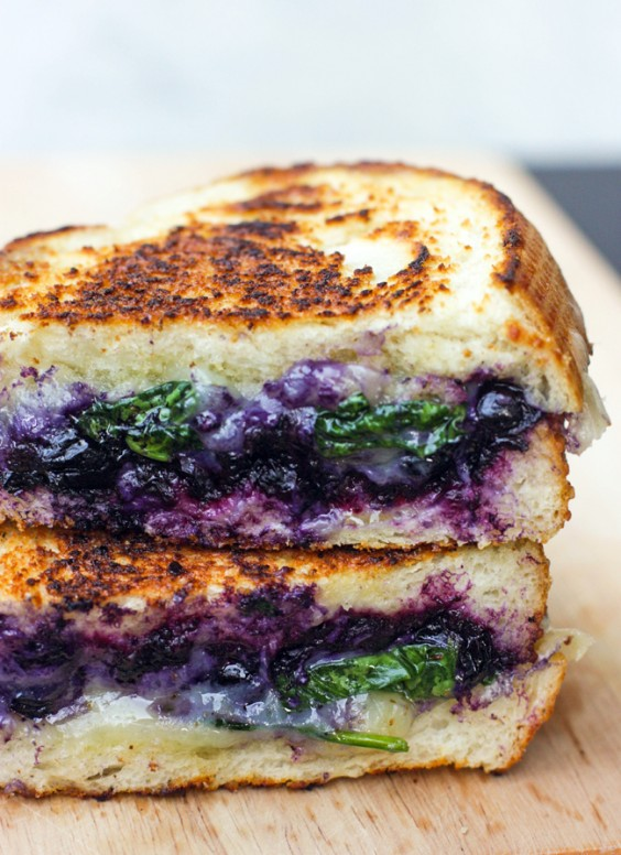 Grilled cheese recipes 9 healthier easy to make grilled cheese 1 balsamic blueberry grilled cheese forumfinder Gallery