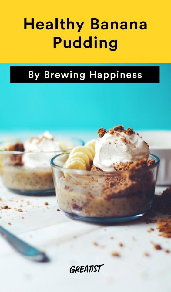 brewing happiness: Banana Pudding