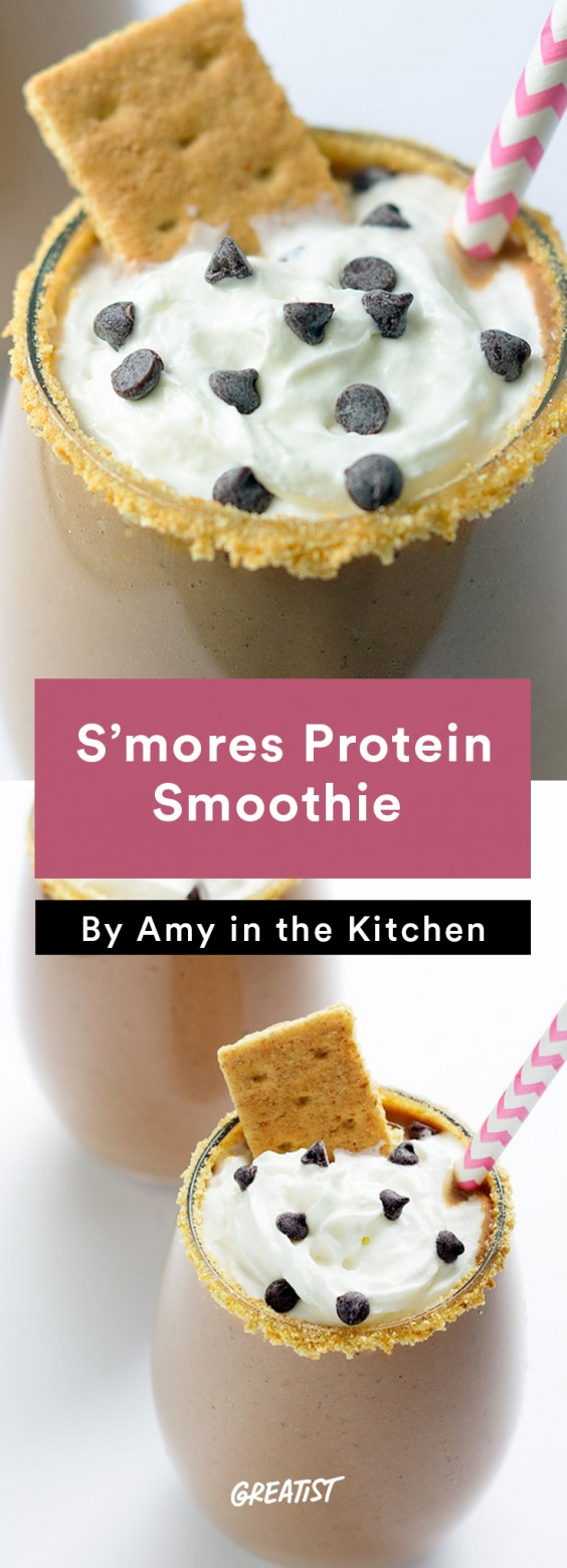 S mores protein shake recipe