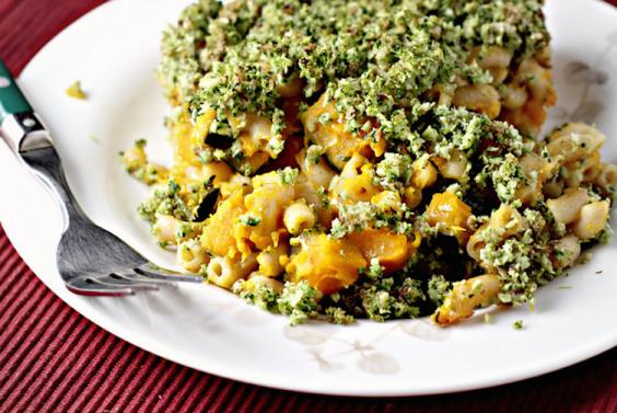 Broccoli-Basil Mac n Cheese