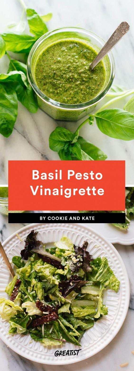 Basil Pesto Vinaigrette