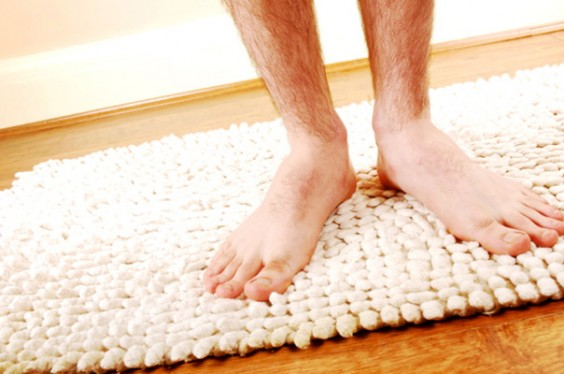 21 Germiest Places You're Not Cleaning: Bathroom Mat
