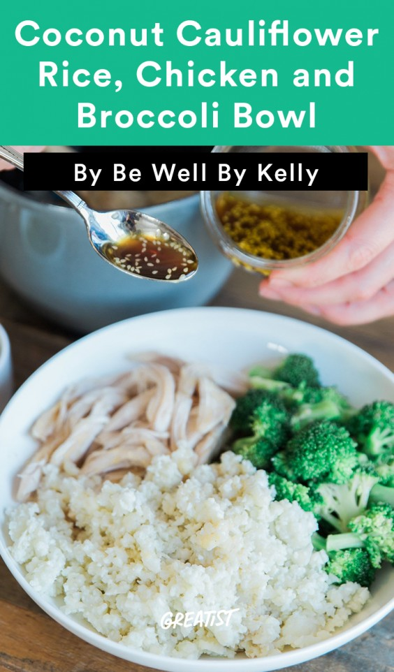 Be Well Chicken Bowl