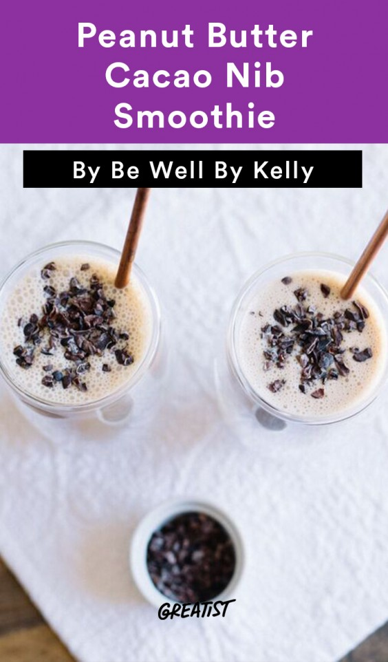 Be Well Peanut Butter Smoothie
