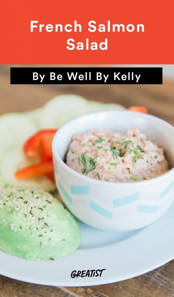 Be Well Salmon Salad