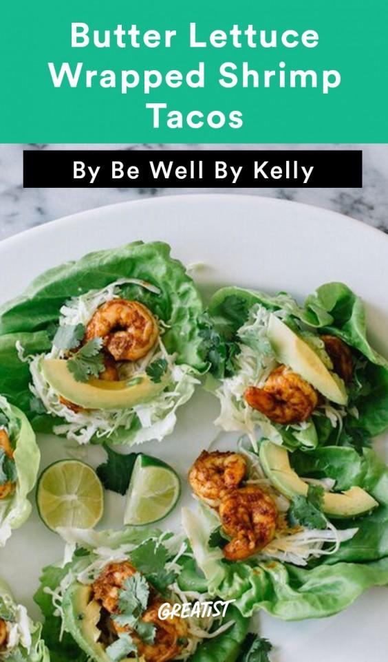 Be Well Shrimp Tacos