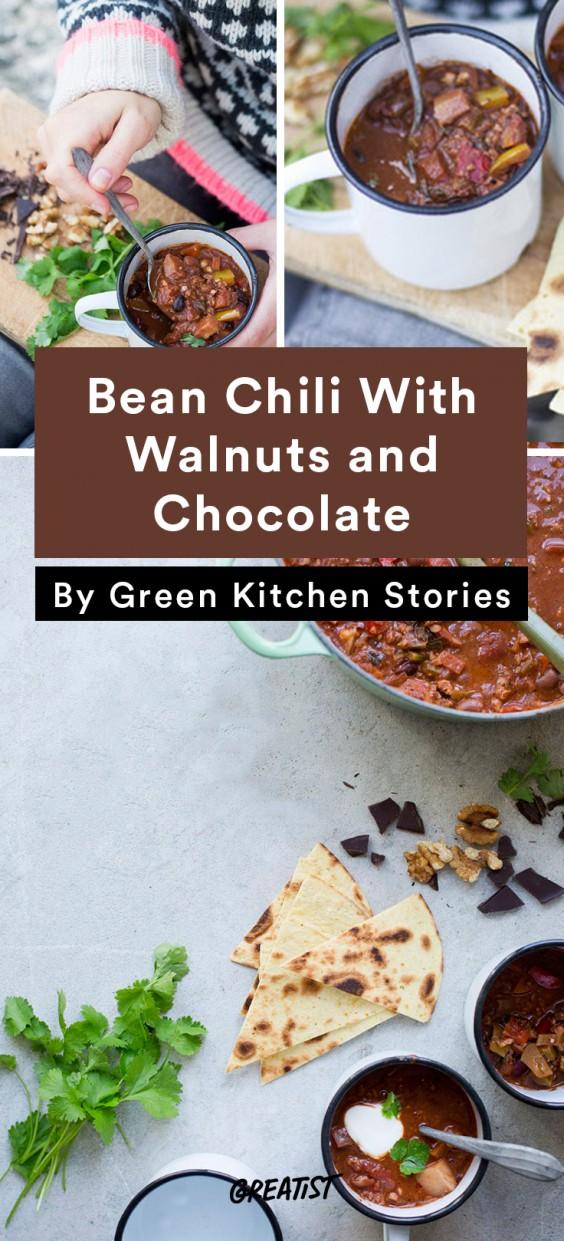 Leftover coffee: Bean Chili