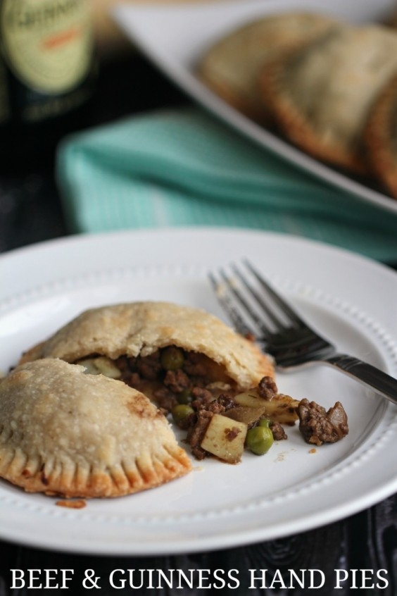 6. Beef and Guinness Hand Pies