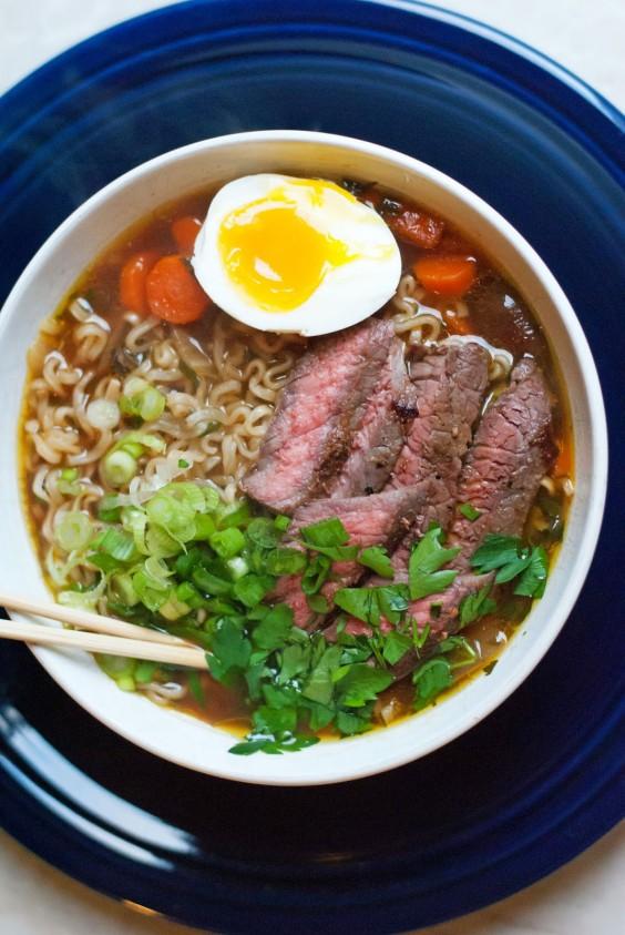 Beef Ramen Noodle Soup