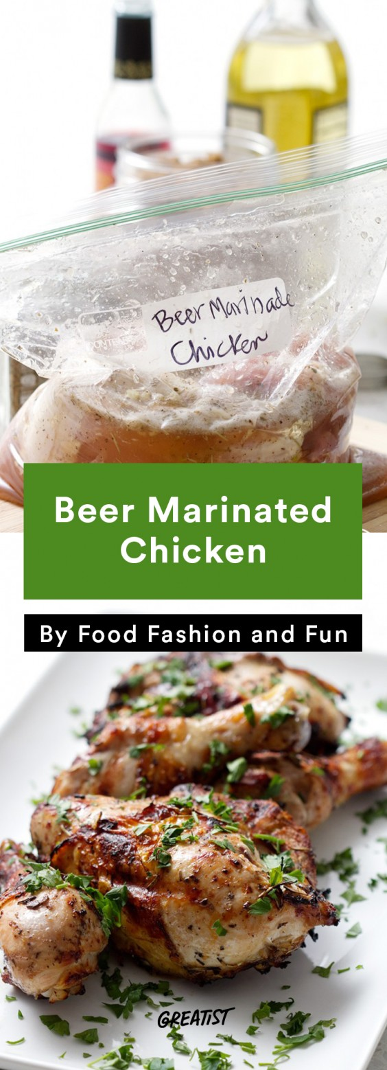 oktoberfest: Beer-Marinated Chicken