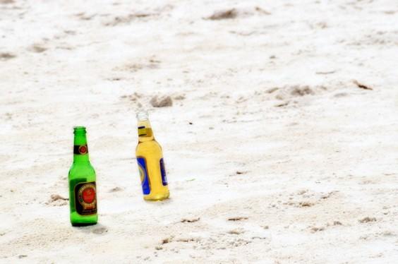 Beers On Beach