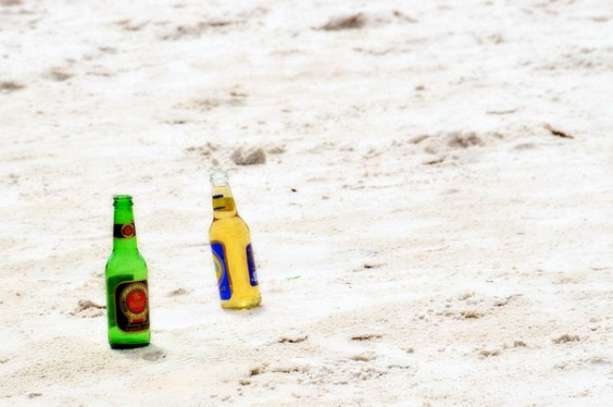 Beers On Beach