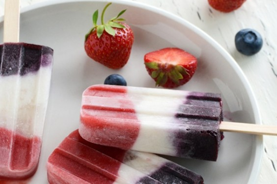 Berry-Lime Popsicles For The 4th Recipes — Dishmaps
