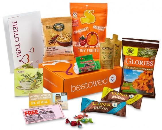 Subscription Box Healthy Snacks: Bestowed