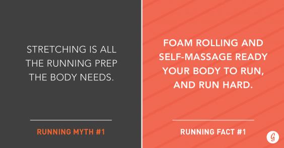Running Stretching versus Foam Rolling