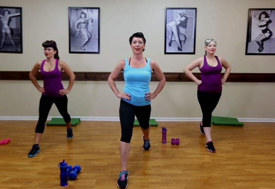 Body Image: Bettie Page Workout
