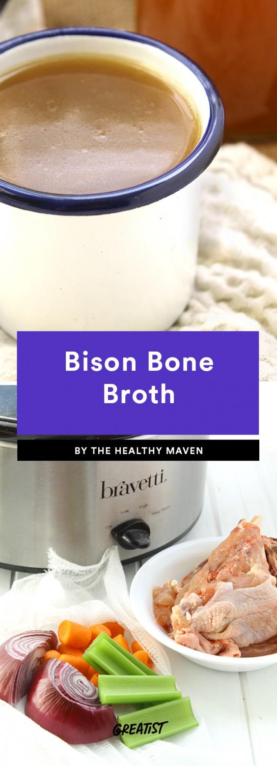 Bison Bone Broth