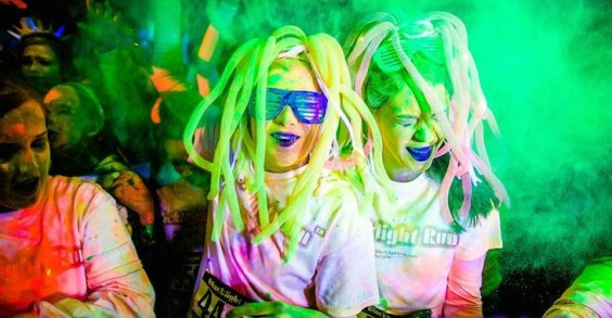 Themed Races: The Blacklight Run
